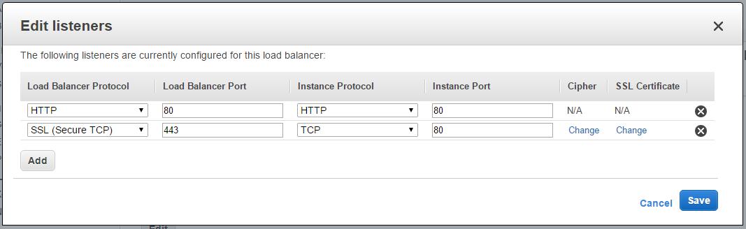 Configuring Websockets behind an AWS ELB – jverkamp com